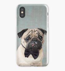 Mr Pug iPhone Case