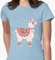 The Alpaca Women's Fitted T-Shirt