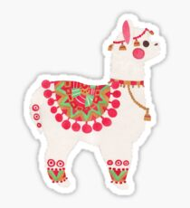 The Alpaca Sticker