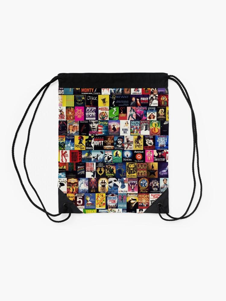 Alternate view of MUSICALS 2 (Duvet, phone case, mug, sticker etc) Drawstring Bag