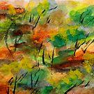 Scarf # 9 by Paul Gilbert