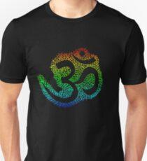 Rainbow Om Unisex T-Shirt