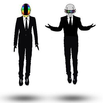 Daft Punk Gods by nathancowle