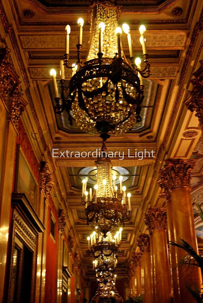 Crystal Hallway by Extraordinary Light