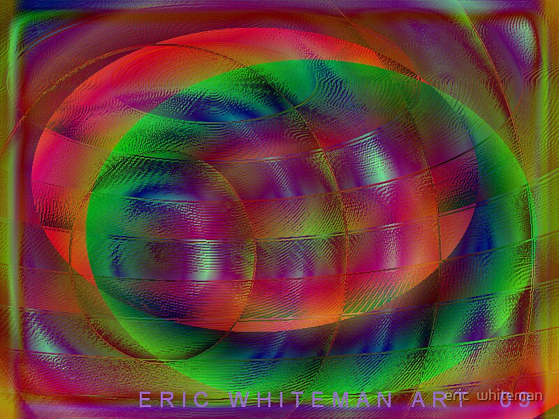 ( YELL ) ERIC WHITEMAN ART  by eric  whiteman