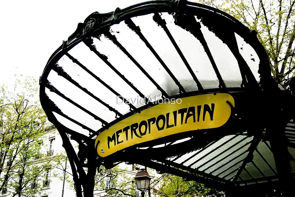 Metropolitain Paris by DavidAlonso