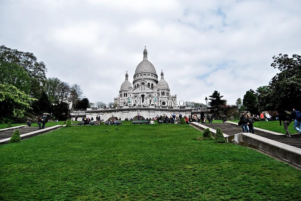 Sacre Coeur Paris by DavidAlonso