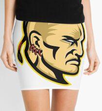 Native American Mohawk Mascot Mini Skirt