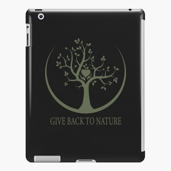 Give Back to Nature - Green Logo iPad Snap Case