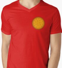 Cookie. Mens V-Neck T-Shirt