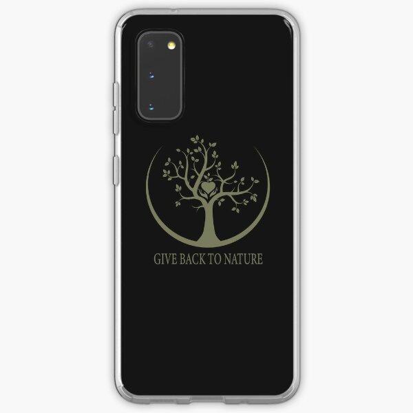 Give Back to Nature - Kaki Grunge Samsung Galaxy Soft Case