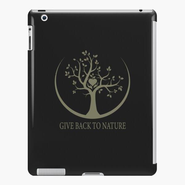 Give Back to Nature - Kaki Grunge iPad Snap Case