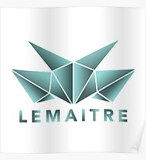 Lemaitre Abstract Design Poster