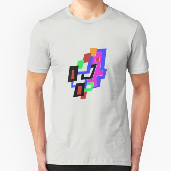 Geometric Man Slim Fit T-Shirt