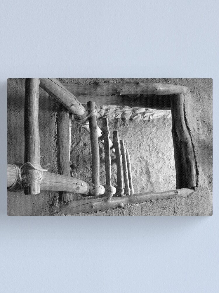 Alternate view of 800 Year Old View Canvas Print
