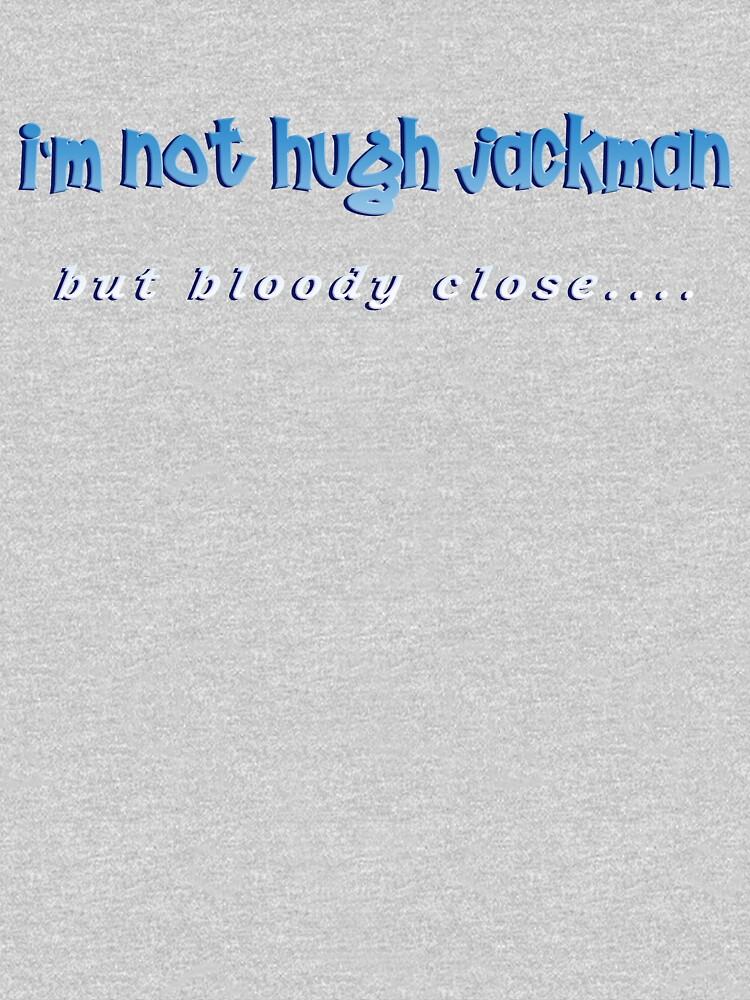 hugh jackman by peteroxcliffe