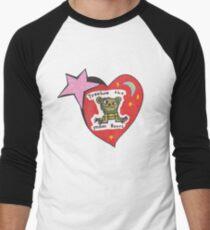Treasure the Moonbears  Men's Baseball ¾ T-Shirt
