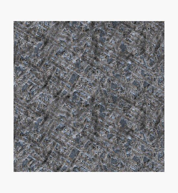 Dirty Rough Gouged Concrete by Alexander Nedviga