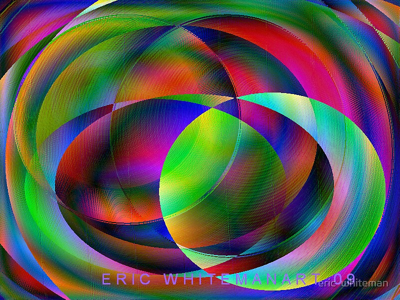 ( VISIONARY ) ERIC WHITEMAN ART    by eric  whiteman
