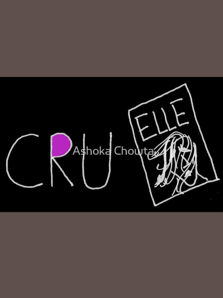 Cruel(black with a bit of colour) by AshokaChowta