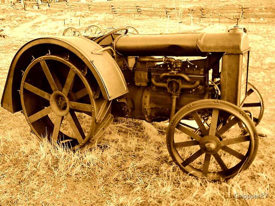 Centennial Tractor by Cliff Lopez