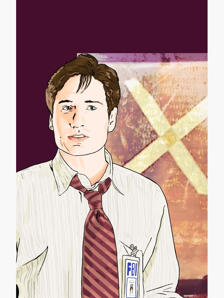 X files  Mulder tape X on window by Mimie ( more 70 designs XFiles in my shop) by MimieTrouvetou