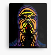 Contour Man (super-hero) Metal Print