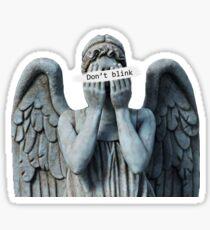 Weeping anegel Sticker