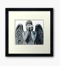 Weeping anegel Framed Print