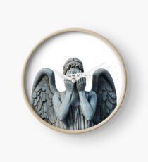 Weeping anegel Clock