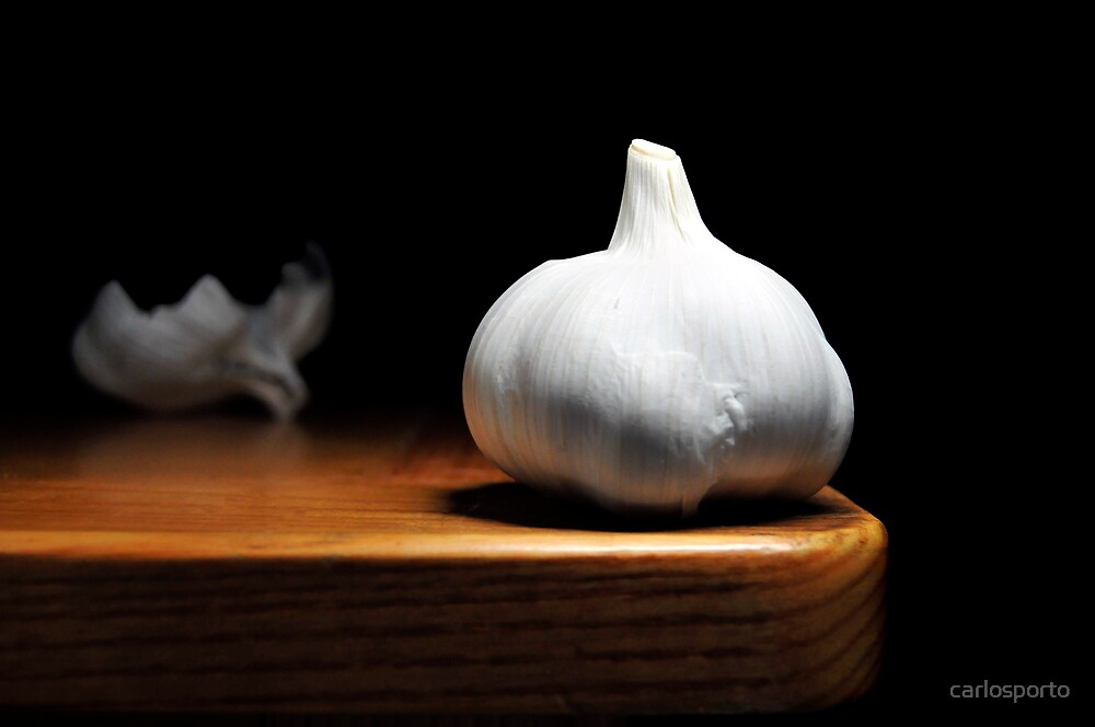 Garlic by carlosporto
