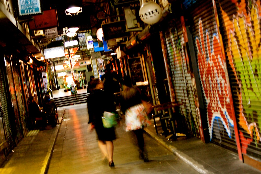 Melbourne Laneway by Rommel Andrew Henricus
