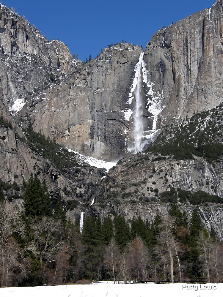 A Stunning Sight ~ Yosemite Falls by Patty Lewis