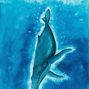 Humpback Whale by Inspiredxcintra