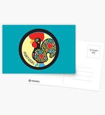 Symbols of Portugal - Rooster Postcards