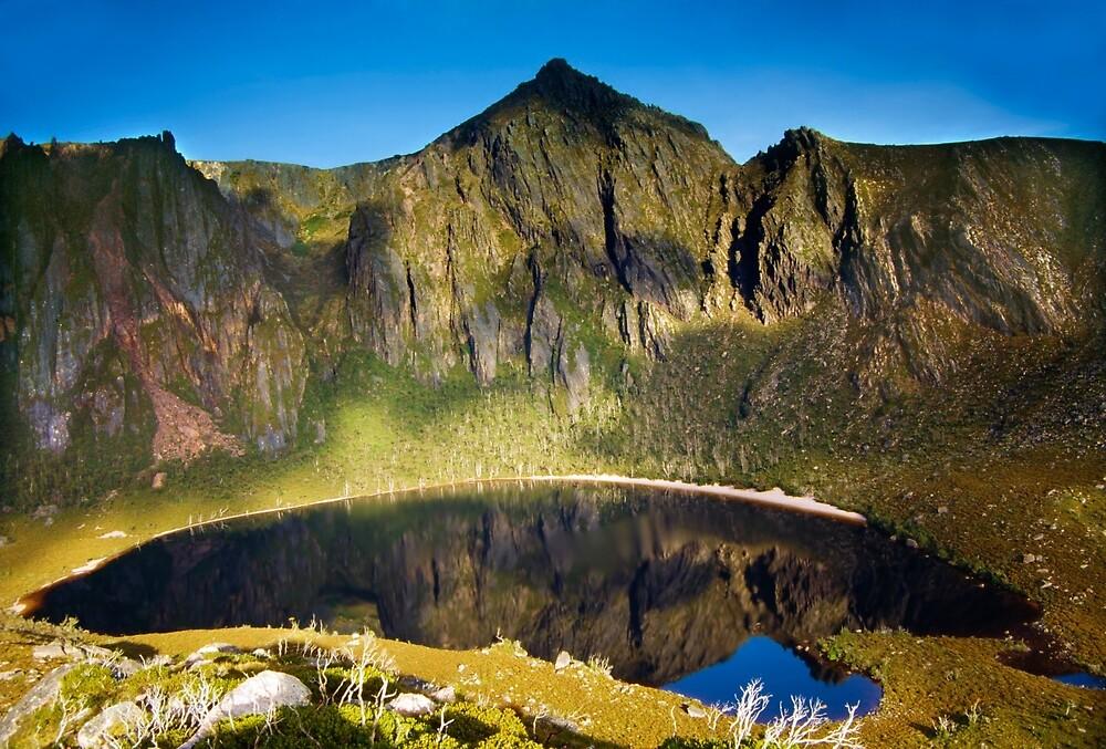 Lake Rhona, South West Tasmania by Kevin McGennan