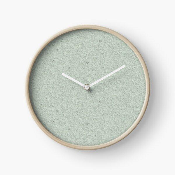 Hard Spray Plaster Texture Clock