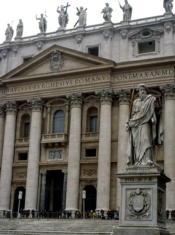 St Peter's, Vatican City by MickDee