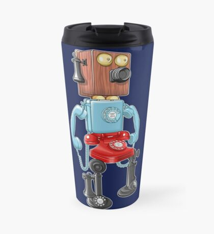 Smartphone Bot 8000 Travel Mug