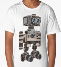 Camera Bot 6000 Long T-Shirt