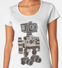 Camera Bot 6000 Women's Premium T-Shirt