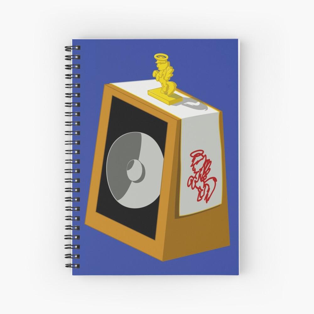 Holey Beep Spiral Notebook