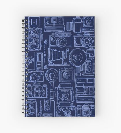 Paparazzi Blue Spiral Notebook