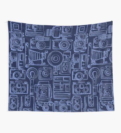 Paparazzi Blue Wall Tapestry