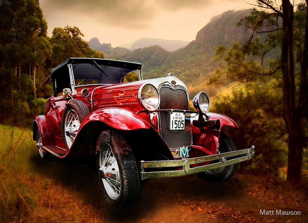 country road by Matt Mawson