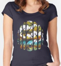 A Magical Place Women's Fitted Scoop T-Shirt