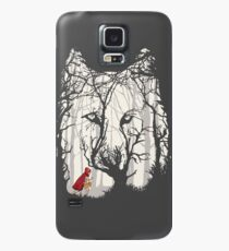 Little Red Woods Run Case/Skin for Samsung Galaxy