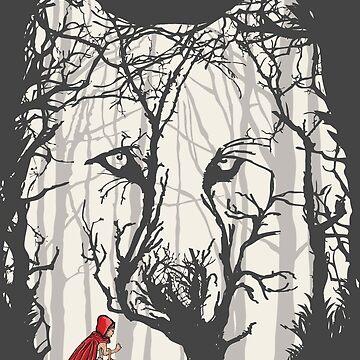 Little Red Woods Run by zomboy