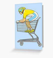 Retail Racer Greeting Card