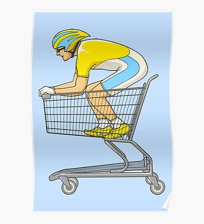 Retail Racer Poster